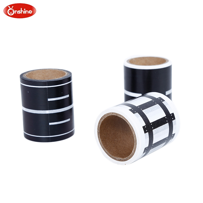 5 cm Childrens Highway Railway Road Adhesive Tape DIY Car Track Childrens Indoor Creative Toys Sticky Paper Education For Kids