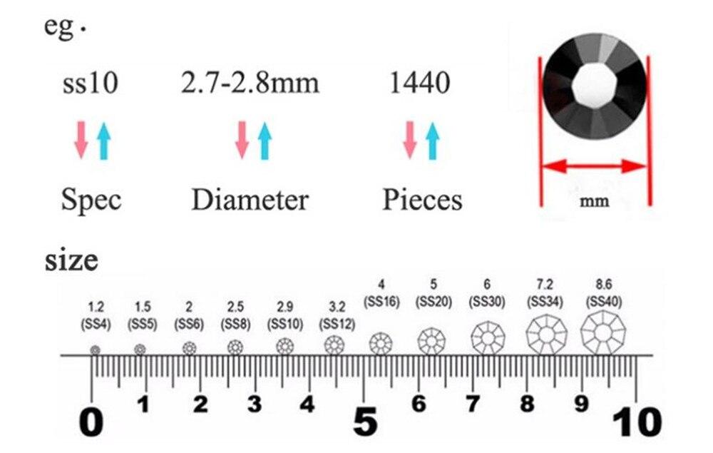 Стразы dmc с прозрачным кристаллом стразы горячей фиксации плоской