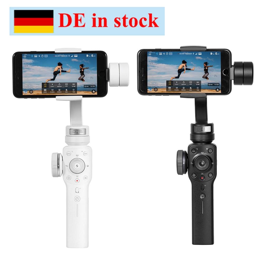 Zhiyun Zhi yun Lisse 4 3 Axes Focus Pull & Zoom Stabilisateur De Cardan pour iPhone X 8 7 Plus Samsung S8 + S8