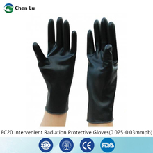 Hospital operating room medical ray protection 0.025mmpb Interventional surgery ultra-thin ultra-soft protective gloves