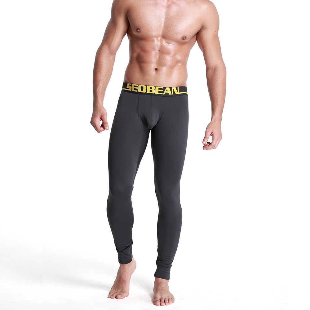 ddc148047 Man Winter Warm Pants Ropa Interior Para Invierno Sexy Male Pajamas Thermal  Underwear Men Leggings Gay Long John Hombre Largo-in Long Johns from  Underwear ...