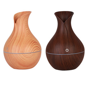 2019hot 300ml USB Electric Aroma air diffuser wood Ultrasonic air humidifier Essential oil Aromatherapy cool mist maker for home(China)