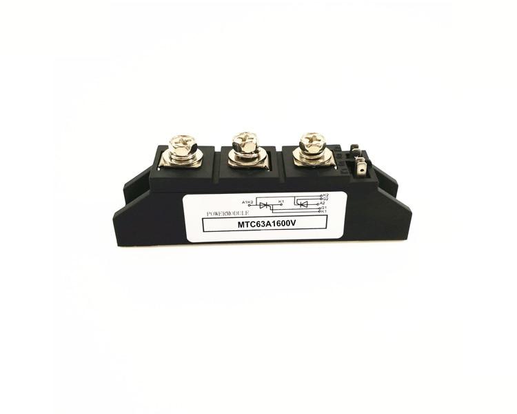 Thyristor Module MTC 63A 1600V Thyristor Module mtc250a 1600v mgr industrial grade thyristor module thyristor module pressure 1600vac