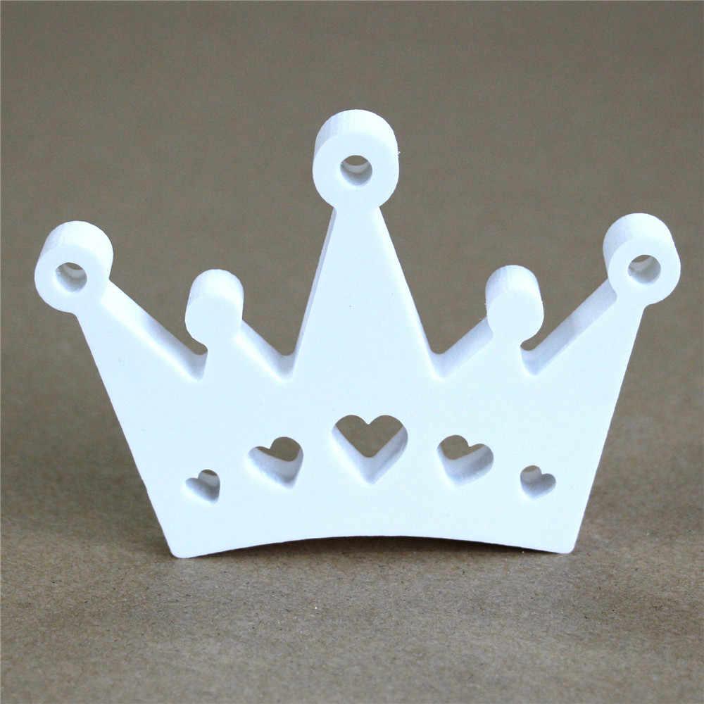 3D Freistehende Shop für Hochzeit hause Dekorative Künstliche Holz Weiß Buchstaben herz apple crown von Dekorationen geschenke Geschenke