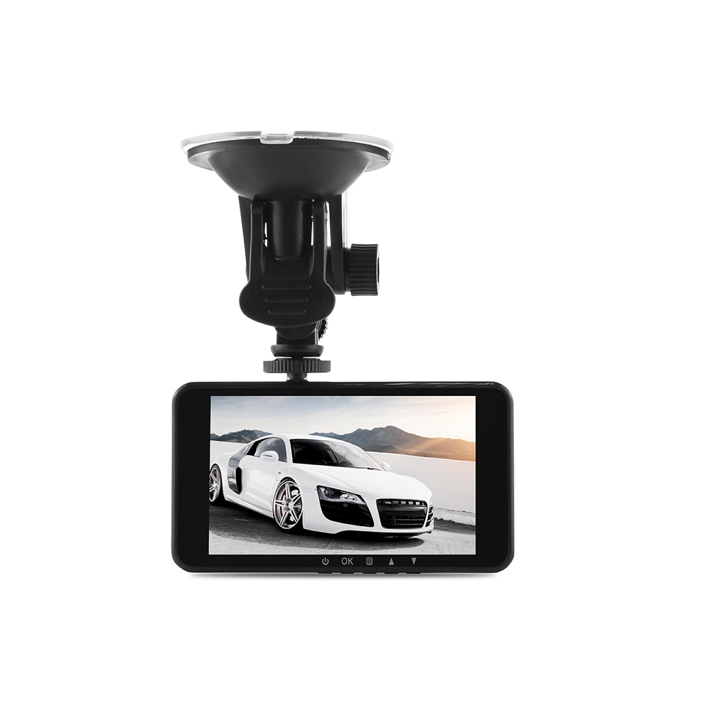 Dome Y900 1080P FULL HD Car Cam Dash 170 Degree Angle Lens G-sensor Seamless Loop Recording 4 inch IPS Display with Dual Camera