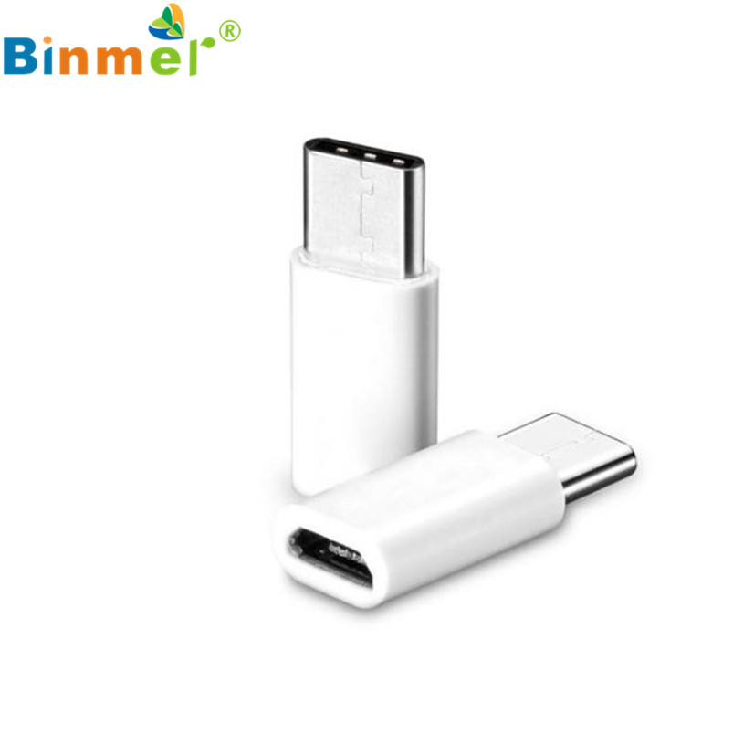Factory price Hot Sell BINMER 1PC USB-C Type-C to Micro USB Data Charging Adapter For Samsung Galaxy Note 7 Sept30 Oct18