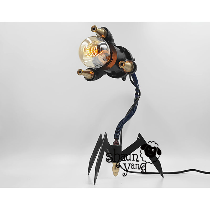 Cool Novel and creative personality retro mechanical Scorpion robot bar DIY American country industrial bar hotel