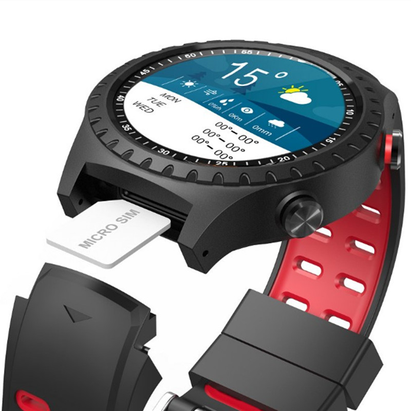 New design hot selling multiple sport modes smart watch colorful <font><b>display</b></font> screen GPS build in compatible compass bracelet phones image