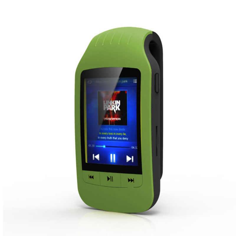 HOTT Спорт Мини Clip Bluetooth Mp3 плеер аудио Mp 3 Mp-3 с Экран цифровой fm-радио Hi-Fi Flac 8 Gb Usb без потерь Walkman