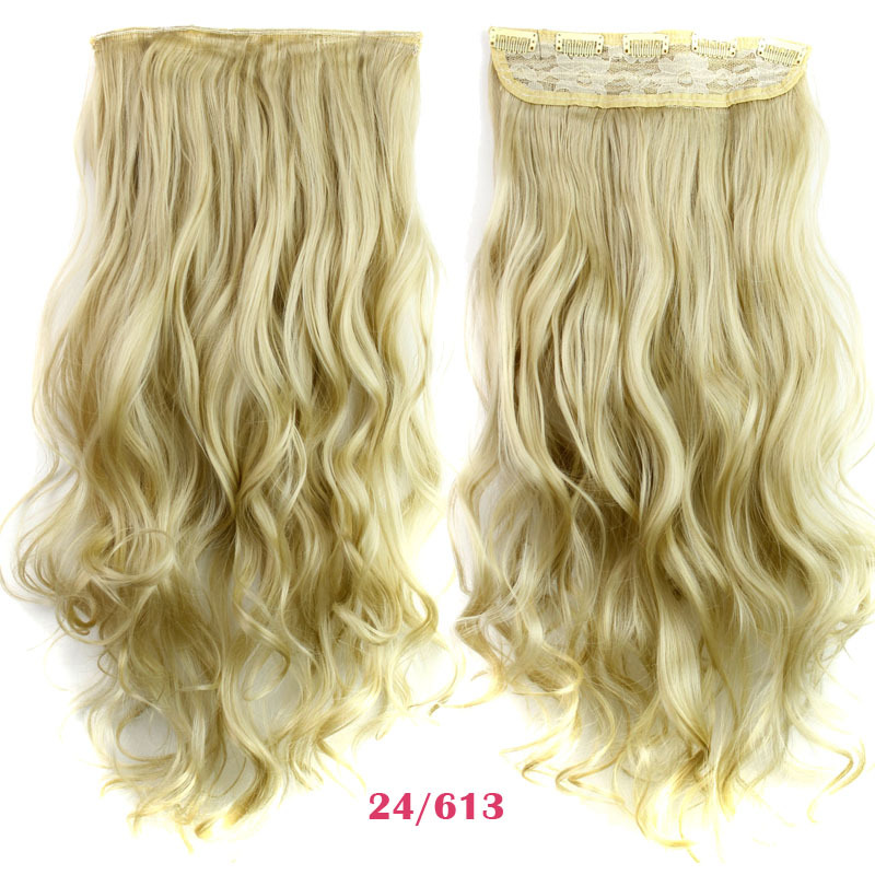 Rockstar Wigs 16clors 24inches Long Wavy Synthetic Hair Extensions
