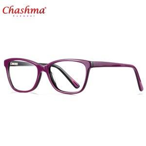 Image 5 - Высококачественная оправа для очков из ацетата, дизайнерская брендовая прозрачная оправа для очков при близорукости, оправа для очков в народном стиле