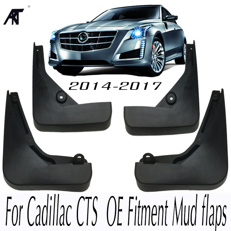 2014 Cars Cadillac Cts Use: Car Mud Flaps For Cadillac CTS 2014 2017 OE Fitment