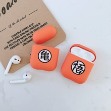 Fashion Chinese Turtle and Wu Bluetooth Wireless Headset Hard PC Case For Airpods Earphone Protective Case Shockproof Matte Case стоимость