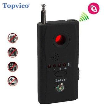 Topvico полный спектр Анти-шпион ошибка детектора CC308 мини Беспроводной Камера Скрытая сигнала GSM устройства Finder конфиденциальности защиты без...