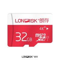 Londisk Micro Sd-karte 32 GB Class10 UHS-3 Speicherkarte Flash Memory Microsd TF Karte für Smartphone Pad Kamera