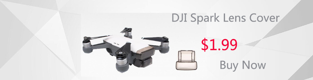 Sunnylife DJI Spark Anti-Glare Gimbal Camera Protector Cover Lens SunHood Sunshade Protection for DJI Spark Drone Accessories