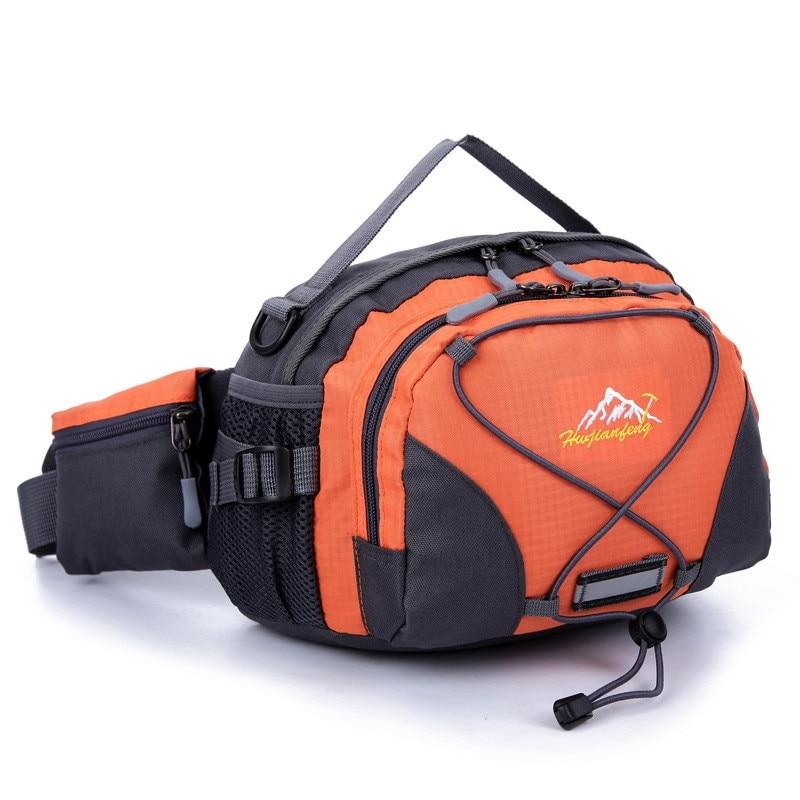 Fashion Waterproof Belt Bum Waist Pouch Men Women Portable Fanny Pack Shoulder Bag Crossbody Women Messenger Bags Travel Bags