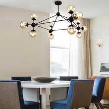 Moder Glass Design Chandeliers For Living Room Bedroom Foyer Lamp Decor Home  Lighting Fixtures Lustre E27 AC110-220V