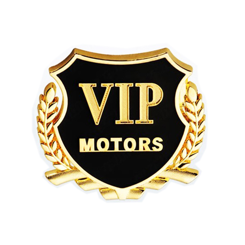 Image 2 - Car Styling VIP Car Metal Stickers For BMW Audi Opel VW KIA Hyundai Peugeot Ford Nissan Mazda Chevrolet Benz Accessories-in Car Stickers from Automobiles & Motorcycles