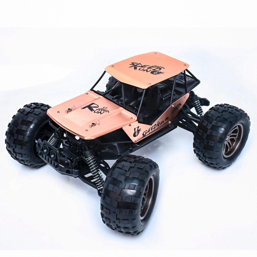 1:12 2.4G 2WD Alloy High Speed RC Monster Truck Remote Control Off Road Car RTR Toy New Z803 hsp bajer 5b 1 5th 2wd rtr 26cc engine gasoline off road buggy 94054