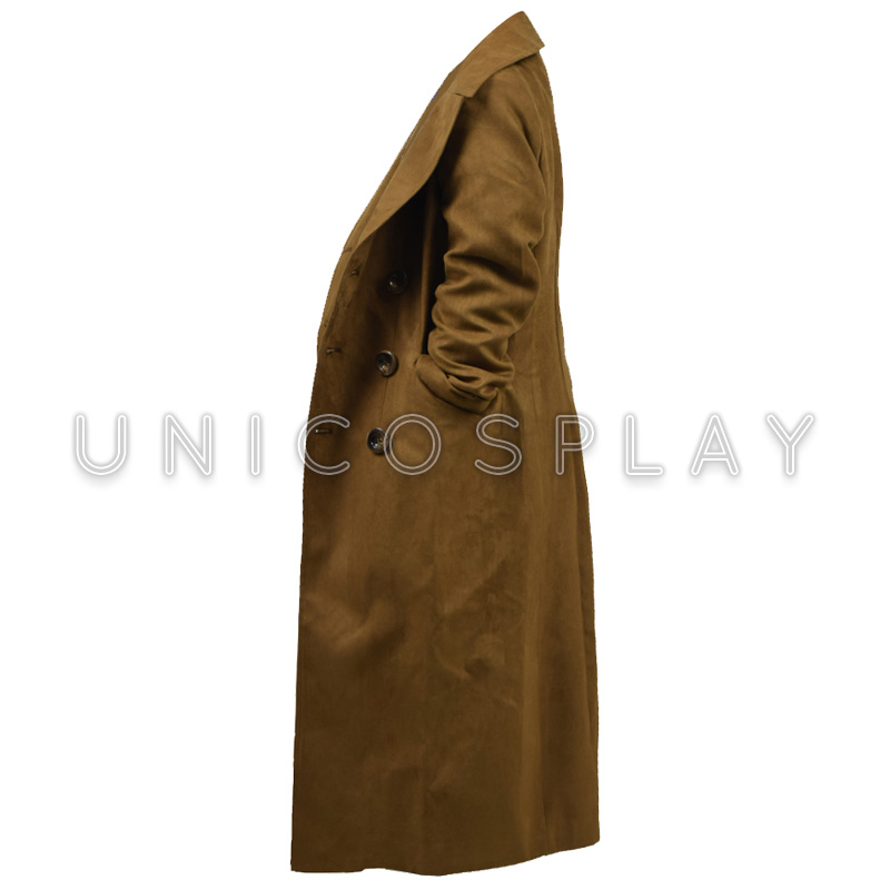 Aliexpress.com : Buy Doctor Who Trench Coat Cosplay Costume Brown ...