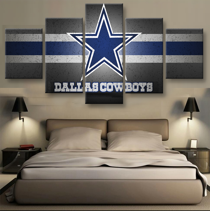 5 Pieces Set Dallas Cowboys Logo On Canvas Sport Painting Unique Wall Art  Modern Abstract Art Deco Hand Painted Picture Painting. Online Get Cheap Dallas Cowboys Pictures  Aliexpress com   Alibaba