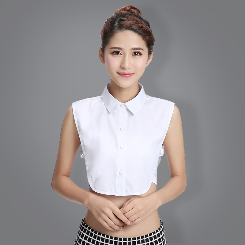 Fashion Women's Fake Collar Solid Color Detachable Collar Spring Winter Shirt Sweater Decoration
