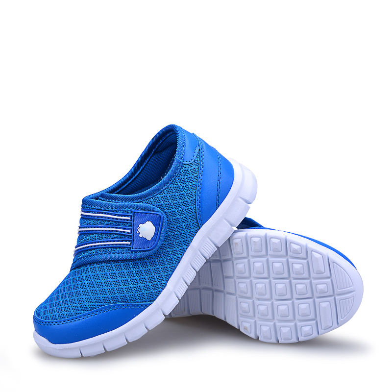 2018 New Boys Shoes Sport Children Shoes Breathable mesh Kids Shoes Light Sneakers for Boys&Girls new hot sale children shoes pu leather comfortable breathable running shoes kids led luminous sneakers girls white black pink