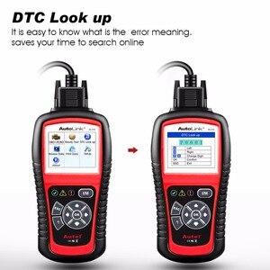 Image 4 - Autel AutoLink AL519 automatyczne narzędzie diagnostyczne skaner kod błędu samochodu czytnik OBD2 CAN Code czytnik Upgrade wersja MS509