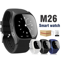 M26 Smartwatch Bluetooth Waterproof Mobile Phone touch Smart Watch Alarm Pedometer For Apple IOS Android Watch DZ09 Q18 A1 Z60