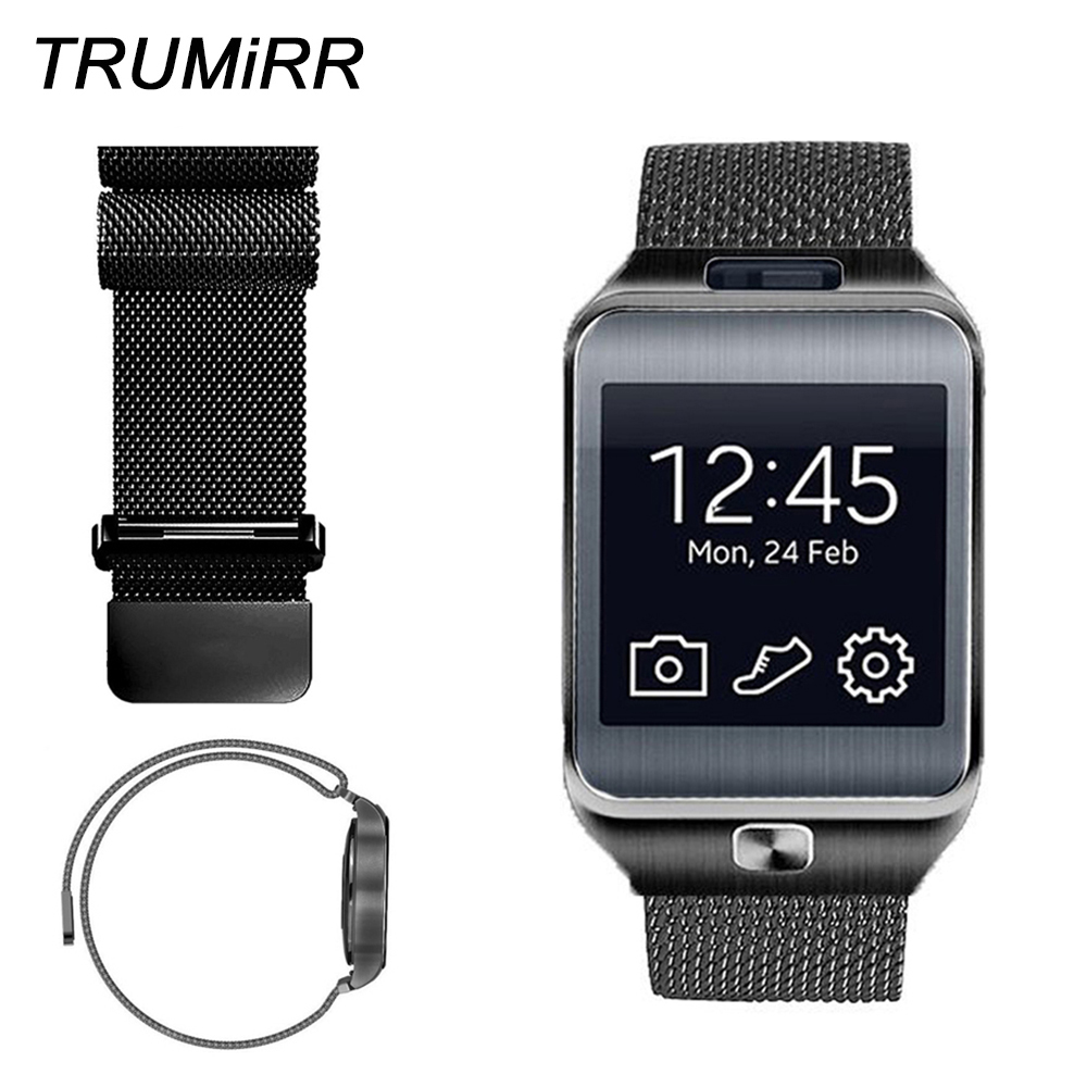 22mm Milanese Strap Stainless Steel Watch Band Bracelet for Samsung Gear 2 R381 R382 R380 S3 Classic Frontier Watchband Belt silicone sport watchband for gear s3 classic frontier 22mm strap for samsung galaxy watch 46mm band replacement strap bracelet