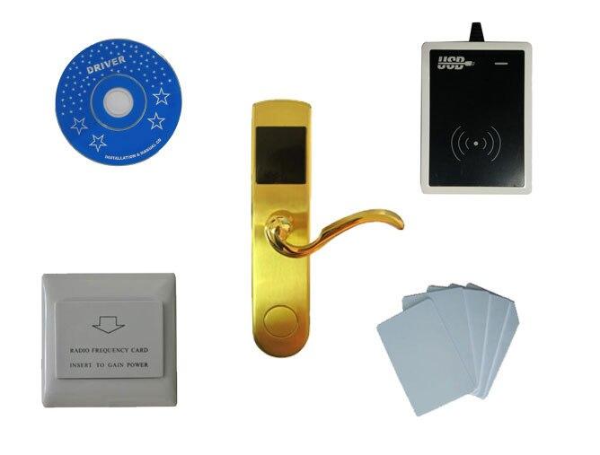 T57 карты системы блокировки отеля, включают T57 замок гостиницы, USB гостинице кодер, энергосбережения, t57 карты, sn: ca 8010 kit