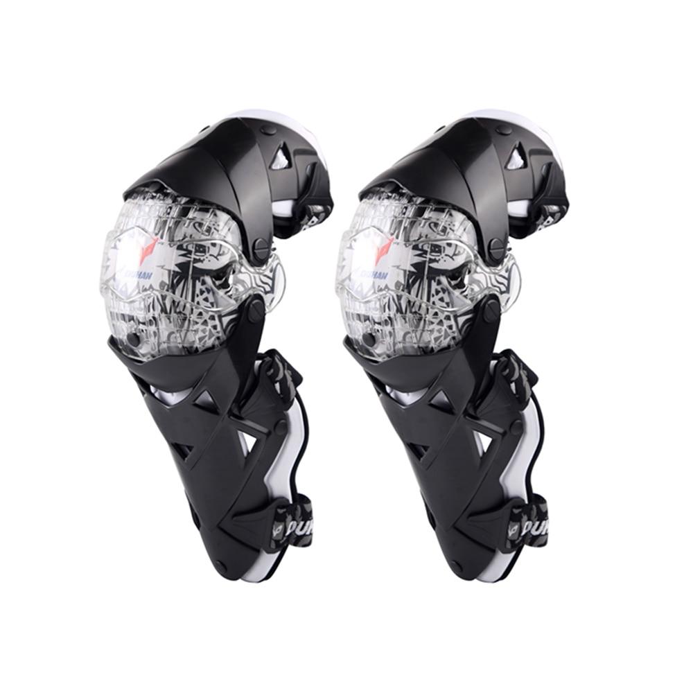 цена на Motorcycle Protective knee pads Motocross Knee Protector Guard MTB Ski Protective Gear Kneepad Moto Knee Brace Support Joelheira