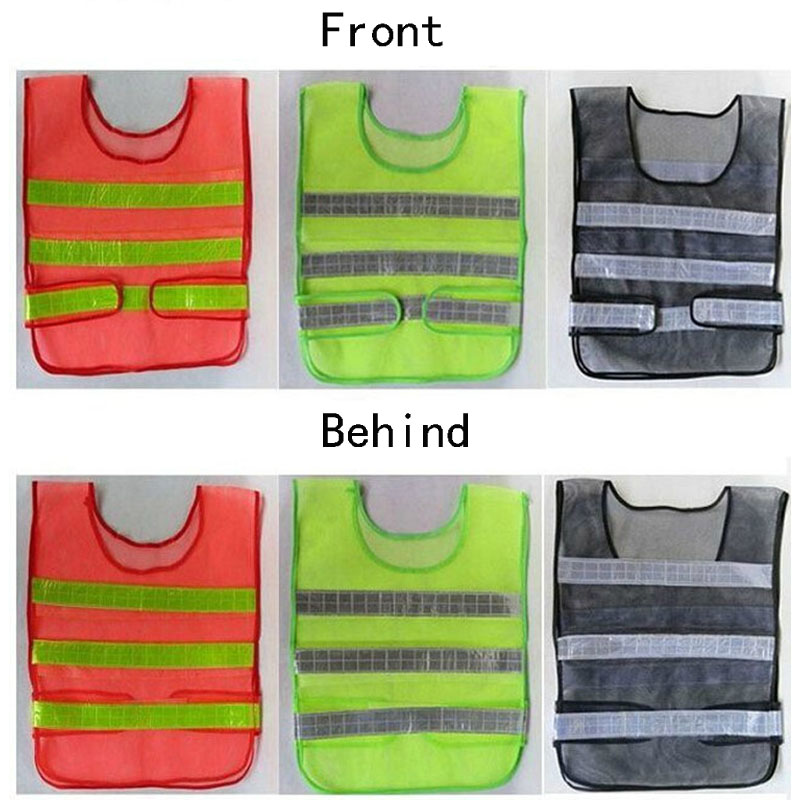 3 Color Reflective Vest Ultimate Performance Running Race High Visibility Reflective Fluorescent Safety Clothing Safety Clothing