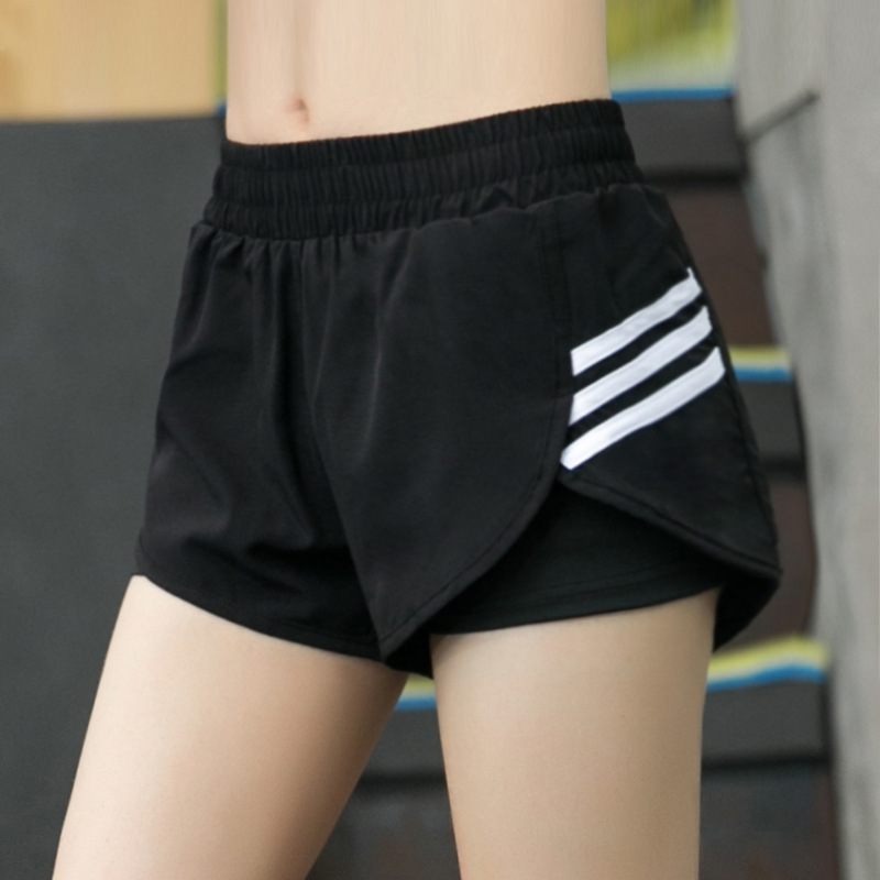 Sport-Shorts Women Training Quick-Dry Fitness Gym For Joggings Elastic Tights Mujer Ladies