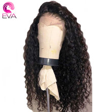 Eva Hair 360 Lace Frontal Wig Pre Plucked With Baby Hair Brazilian Deep Wave Lace Front Human Hair Wigs For Women Remy Hair Wigs