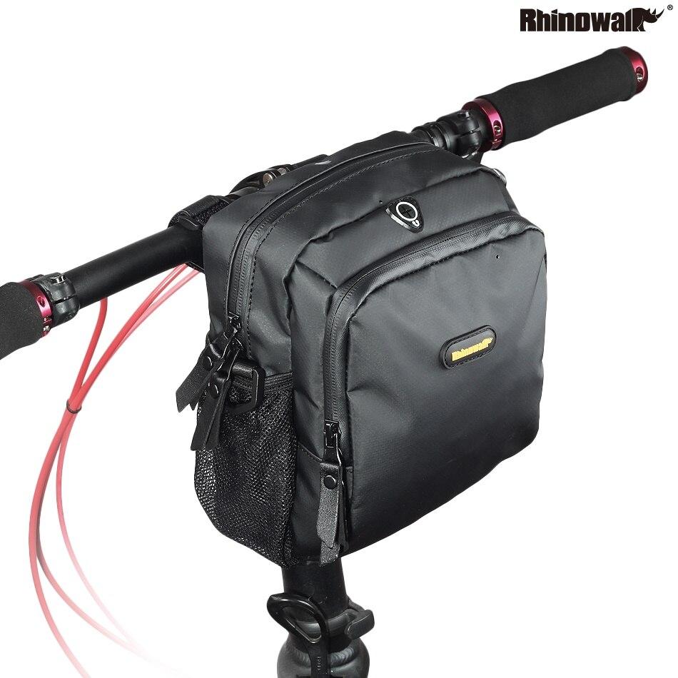 Rhinowalk велосипедная водонепроницаемая сумка на плечо для руля велосипеда, сумка для хранения передних трубок для шоссейного велосипеда