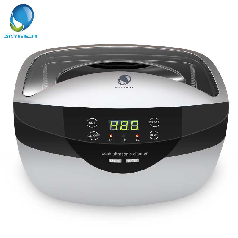 SKYMEN 2500mL Ultrasonic Cleaner Degas Digital Time Setting for Jewelry Stones Cutters Gold Silver Watches Glasses