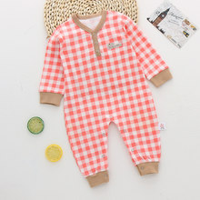 Autumn Spring Cotton Newborn Baby Boy Girl Romper Clothes Long Sleeve Infant Children Clothing Jumpsuits Kid Sleepwear Pajamas(China)