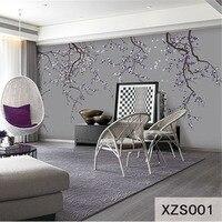 Custom 3D Print DIY Fabric Textile Wallcoverings For Walls Wall Murals Cloth Wallpaper Matt Silk For