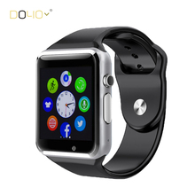 Smart Watch GT08 Clock With Sim Card Slot Push Message Bluetooth Connectivity for iPhone Android Phone Smartwatch Russian T50