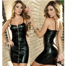 Sexy Lingerie Underwear Hot Erotic Porno Anal Plug Latex Costumes Butt Babydoll Patent Leather Skirt