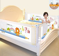 Baby Bed Fence Kids playpen Safety Gate child Care Barrier for beds Crib Rails Security Fencing Children Guardrail