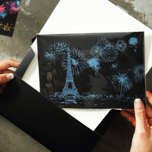 4pcs/pack DIY Magic Scratch Art