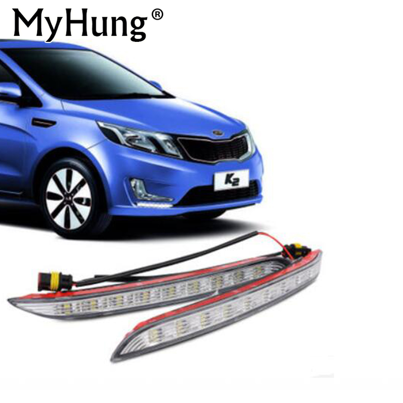 Super brillante LED DRL impermeable luz diurna luces de circulación - Luces del coche