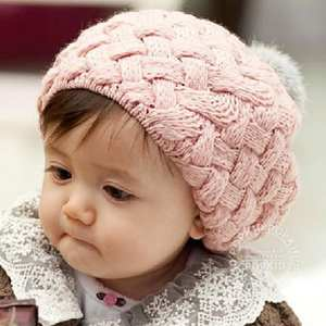 3548411b034 Favolook Lovely Kids color woolen beret hat children cap