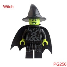 Pg256 Wizard Of Oz Wicked Witch Dolls Super Heroes Building Blocks Bricks Children Gifts Toys For Children Hobbies Single Sale