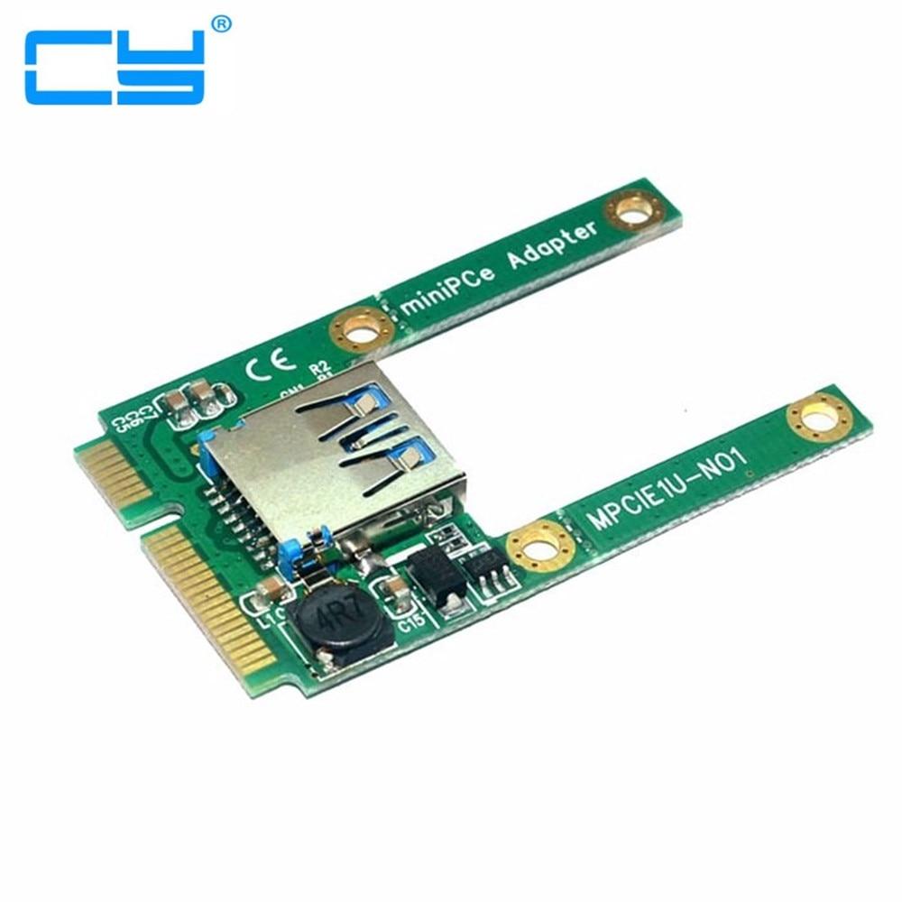 2 шт./Mini pci-e pci-express PCIe PCI Express половинной высоты Порты и разъёмы USB 2.0 адаптер карт мини карты usb флэш-диск Wi-Fi Беспроводной