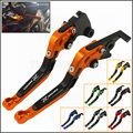 CNC Adjustable Foldable Extendable Motorbike Brakes Clutch Levers Kawasaki Z800 E version 2013 2014 2015 2016 Free Shipping