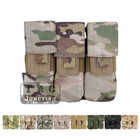 Emerson Tactical MOLLE PALS 5.56 .223 M14 M16 AR15 Triple Magazine Pouch Emersongear Mag Pouch Military Ammo Holder Bag